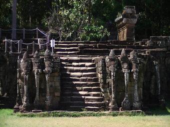 Travel Solo to Terrace of Elephants in Cambodia