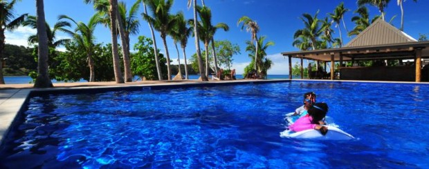 Luxury Travel to Exotic Fiji Paradise Cove when price is no object