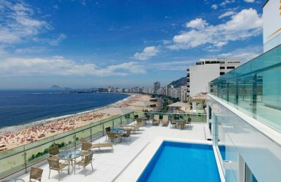 Rio solo travel package 4 star Copacabana for singles vacations