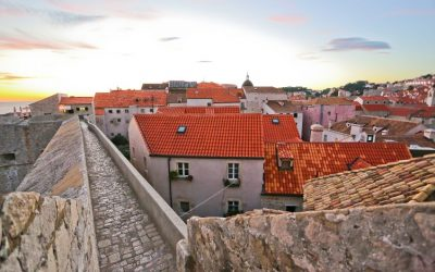 Dubrovnik red rooftops