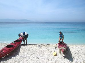 Adventure Travel Hike & Kayak the Greek Cyclades Islands a Perfect Singles Vacation