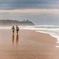 Australia Sunshine Coast Solo Destinations-Beach Walk